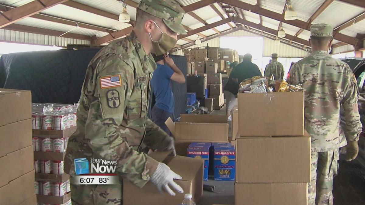 More than 1,000 people helped at pop up food distribution