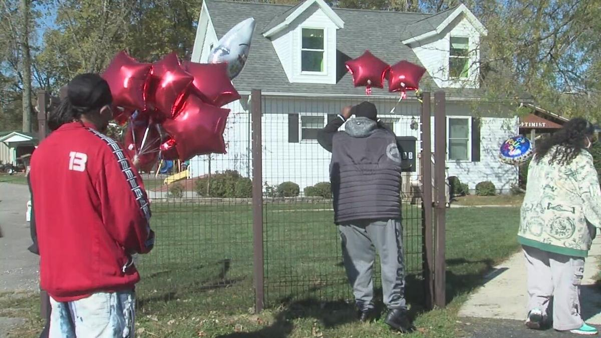 Family and friends of Maleek Nelson gather in remembrance Saturday