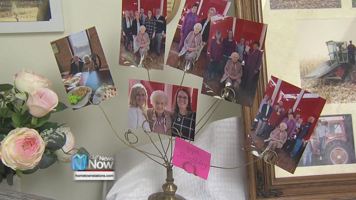 Spencerville woman celebrates turning 100 years old