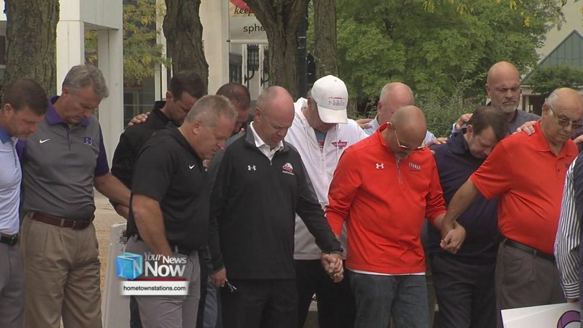 Local coaches come together in support of Vince Koza