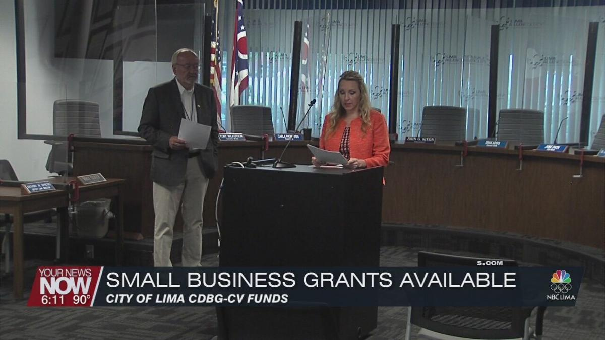 City of Lima has grants available for small businesses that didn't meet other CARES Act criteria