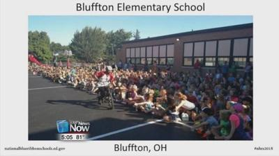 Bluffton Elementary recognized with national award