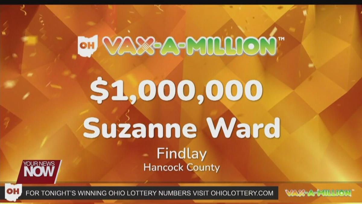 One local person wins Vax-A-Million giveaway