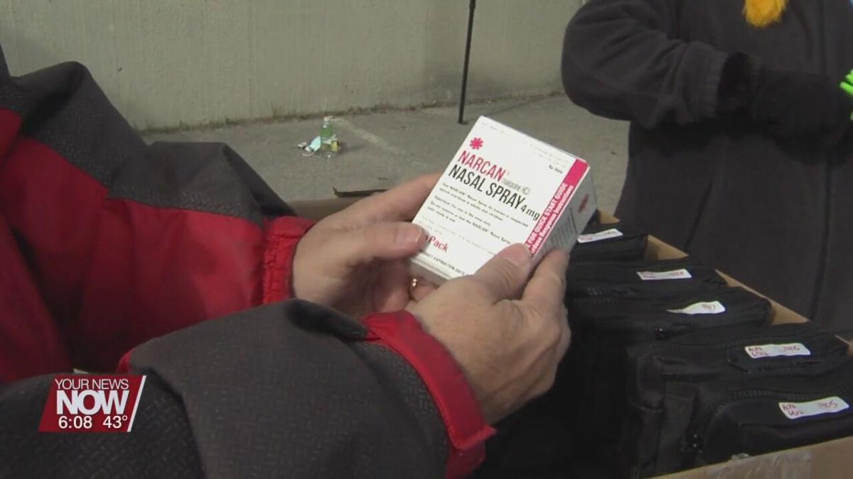 Mental health and substance abuse assistance offered at food distribution