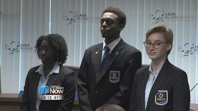 Three Lima Senior students hold DECA state office positions