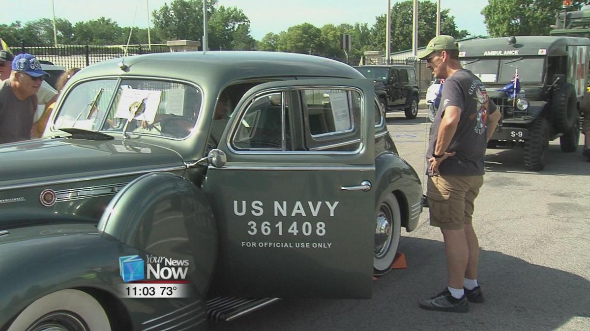 The Transcontinental Motor Convoy stops by Delphos after 100 years 2.jpg