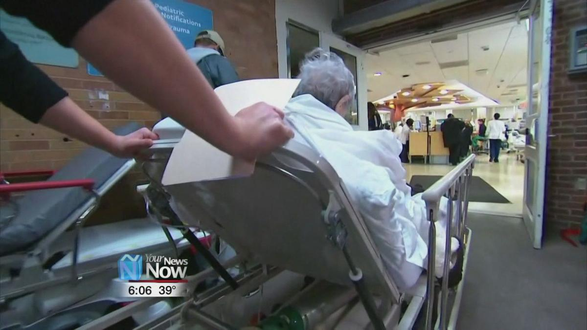 More cases of people hospitalized by flu being reported
