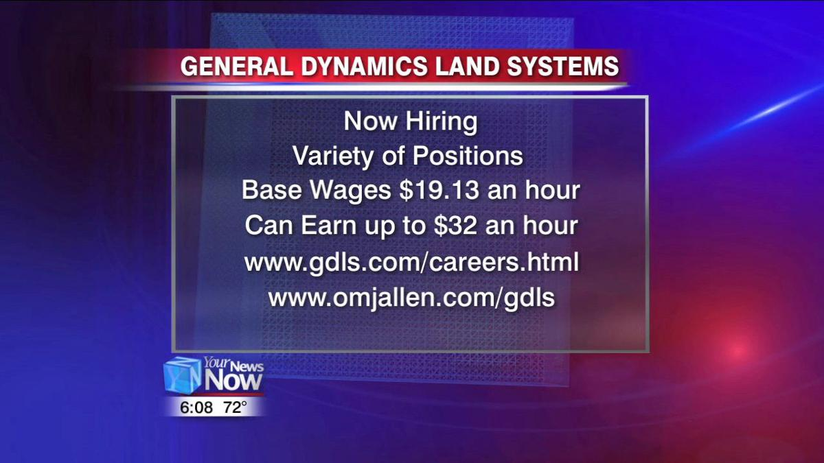 More than 300 job opportunities available at General
