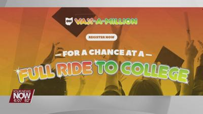 Deadline to register for 2nd Vax-A-Million drawing is May 30th, at 11:59pm