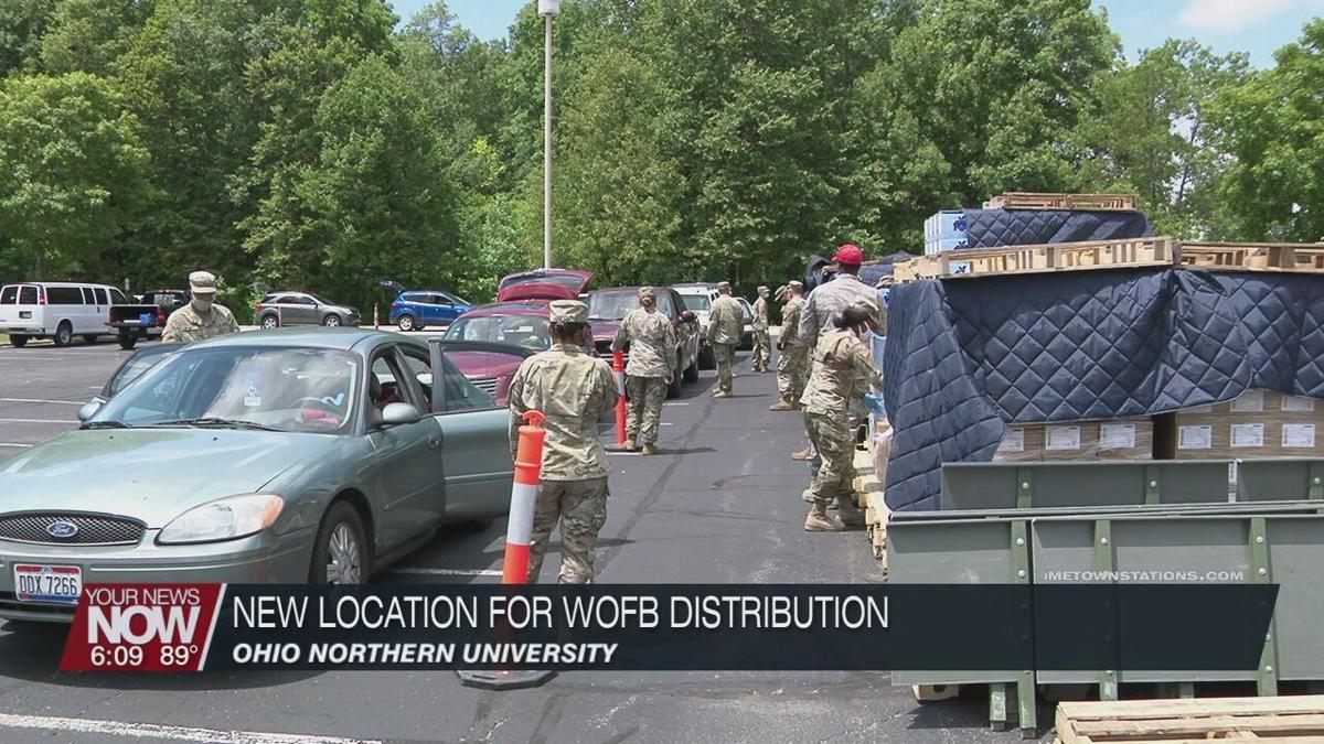 WOFB partners with Ohio Northern University for different kind of food distribution