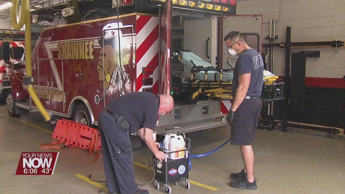Cost estimate for Fire Dispatch services for Shawnee Township to be presented by Allen County Commissioners