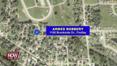 Findlay Police Department looking for suspects in Tuesday night armed robbery