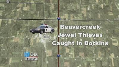 Ohio State Patrol arrests jewelry store thieves