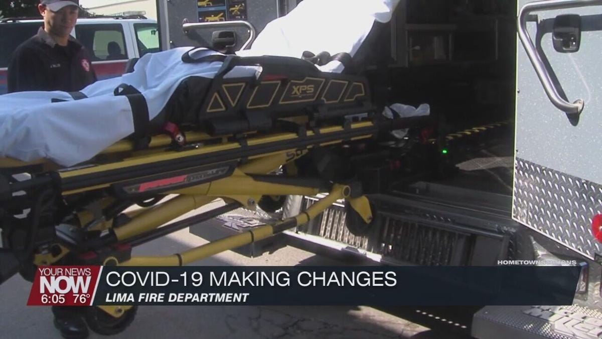 COVID-19 creates changes at Lima Fire Department