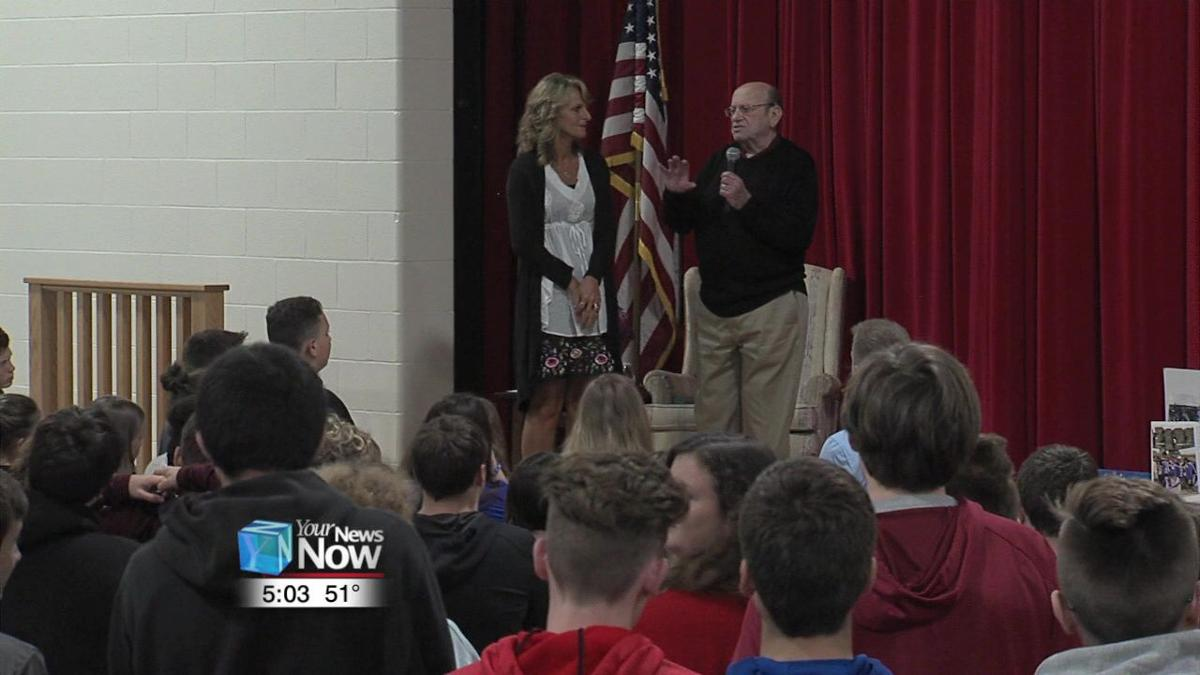 Holocaust survivor shares story with Bluffton middle schoolers 1.jpg