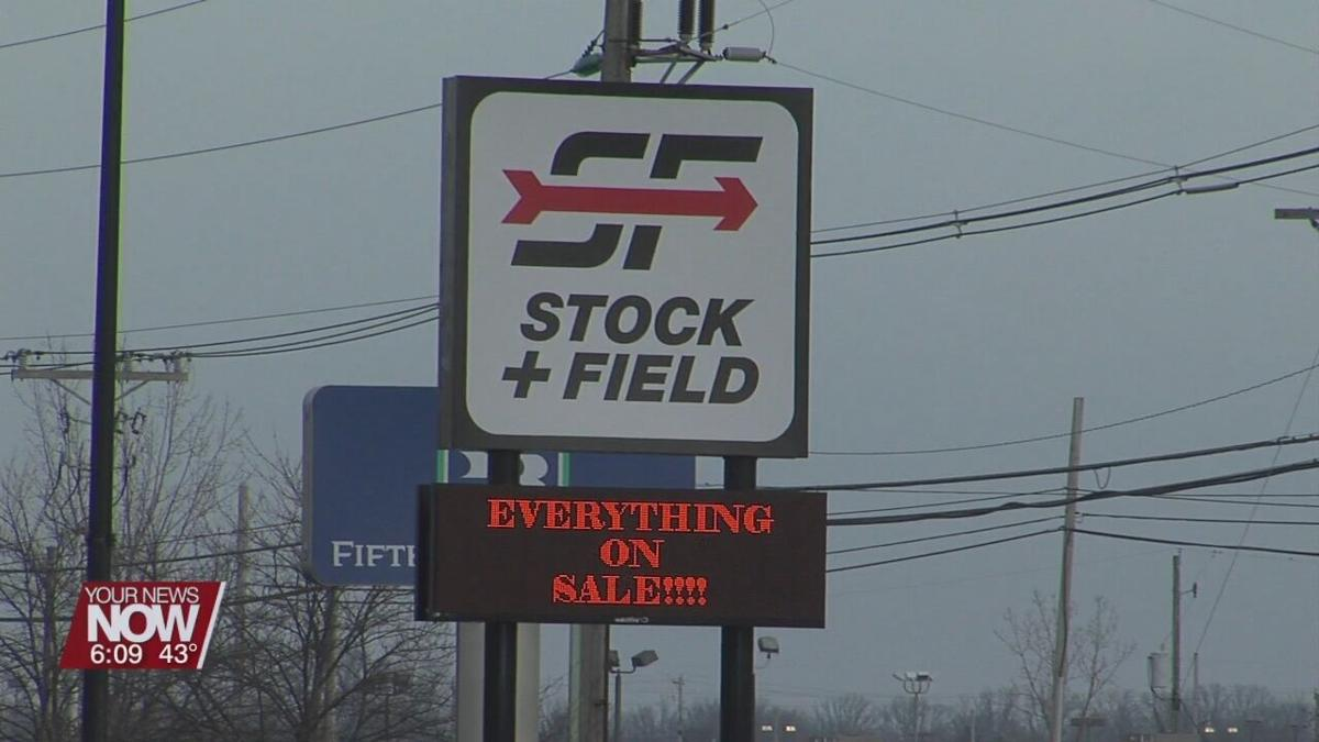 Stock+Field filing bankruptcy and closing all of their 25 locations across the country