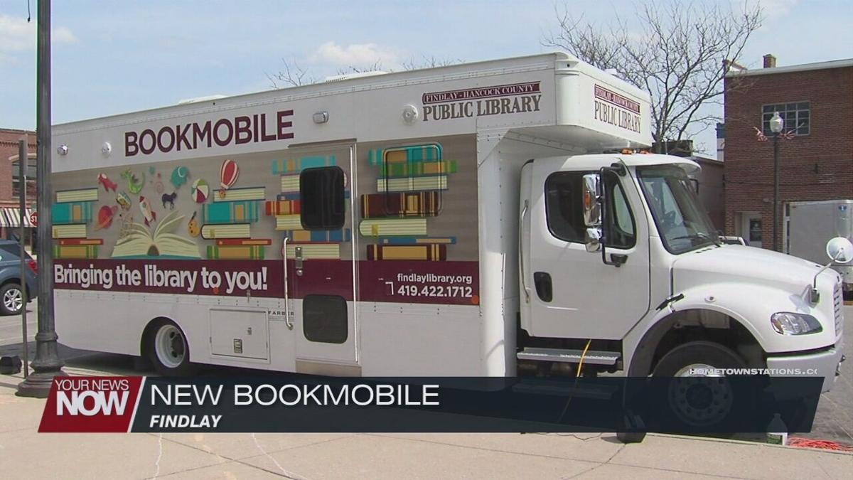 Findlay-Hancock County Public Library brings in new bookmobile