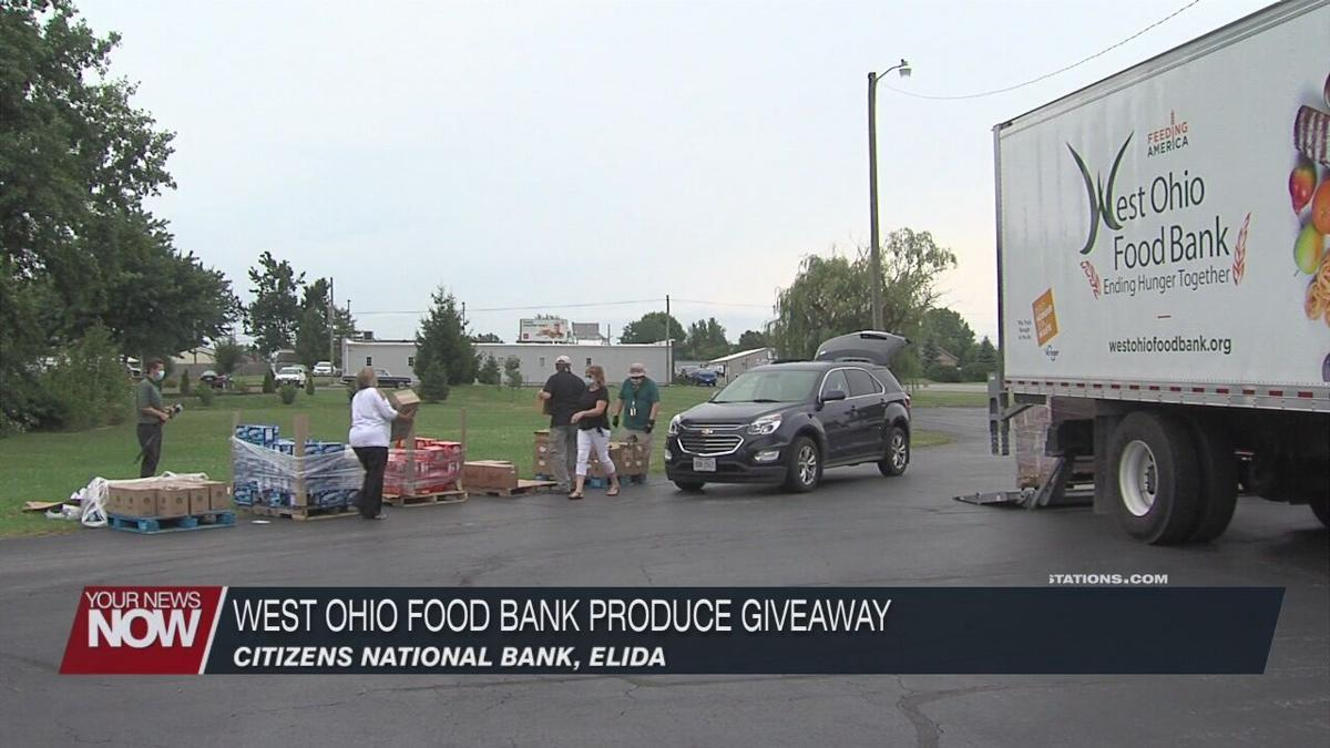 West Ohio Food Bank teams up to give away produce