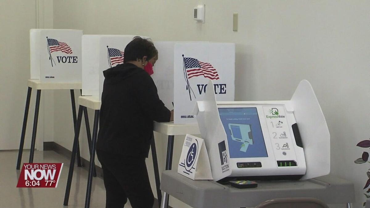 Voters can now head to the Board of Elections to cast their vote for the May 4th Special Election