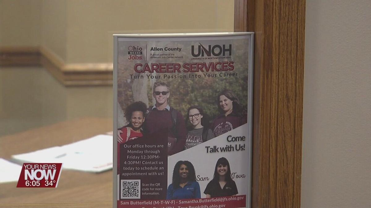 UNOH and Ohio Means Jobs team up to help students find employment in chosen career field