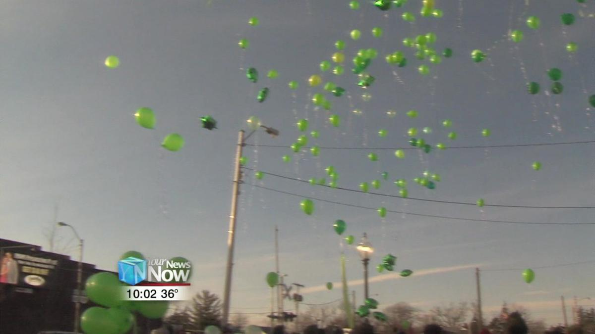 Paint the Town Green event honors young man's life 1.jpg