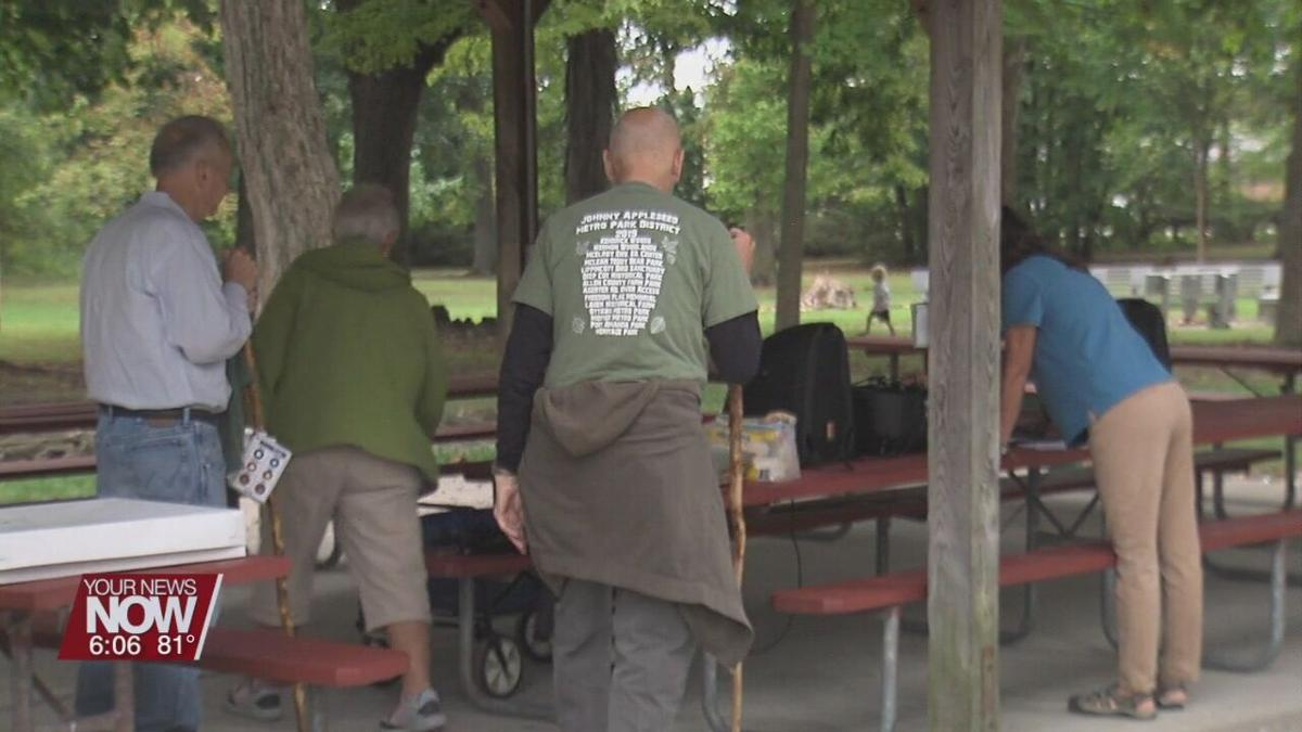 Nature walk allows participants to take in beauty of McLean Teddy Bear Park