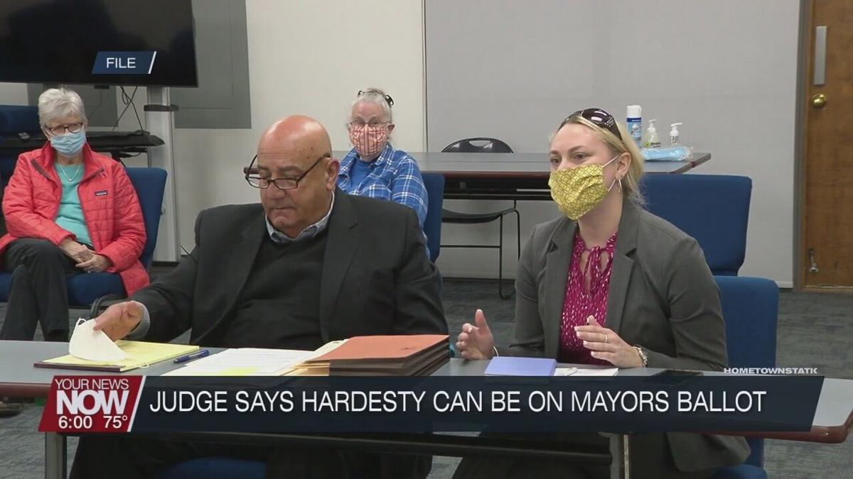 Visiting judge rules Hardesty can run for Lima Mayor