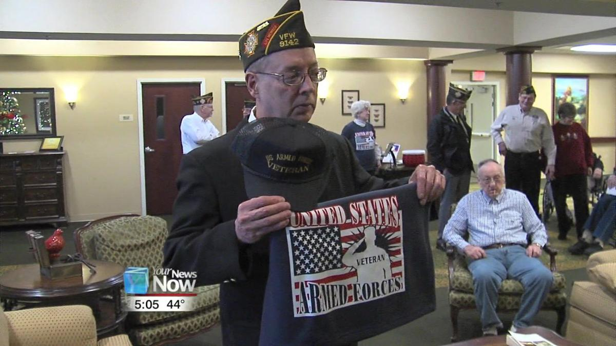 Ottawa VFW visits veterans in health care facilities for Christmas1.jpg