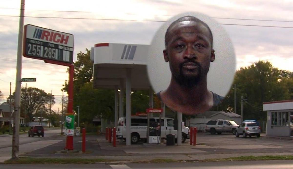 Calvin McGhee charged charged with robbing gas station twice in two weeks