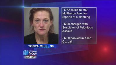 Lima woman arrested after stabbing man she lived with