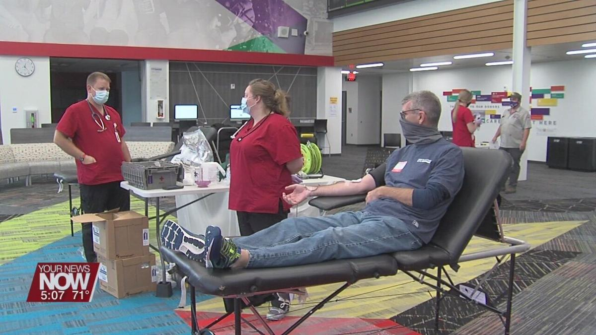 Tri-Star Career Compact hosts blood drive