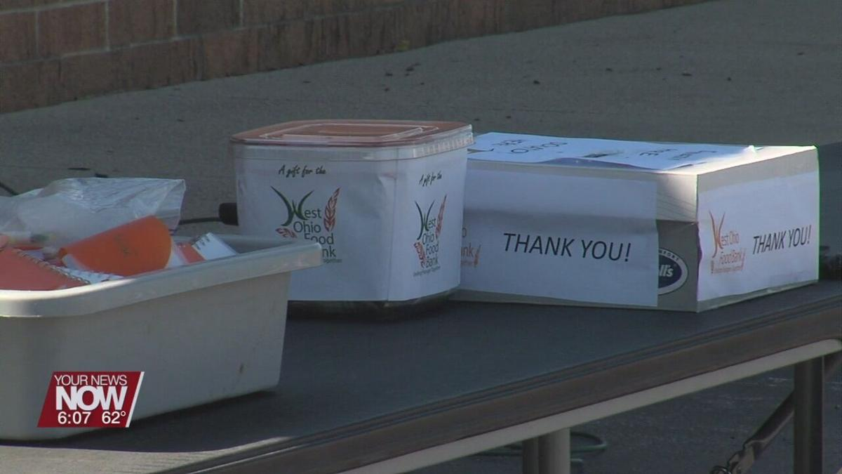 West Ohio Food Bank holds drive-thru donation event
