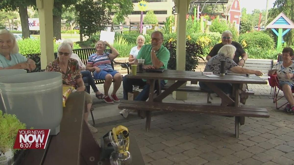 Container Gardening brings people out to Allen County Master Gardener Brown Bag Series