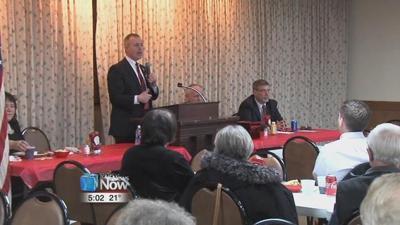 Sprague talks to Allen County GOP about Ohio Treasurer run