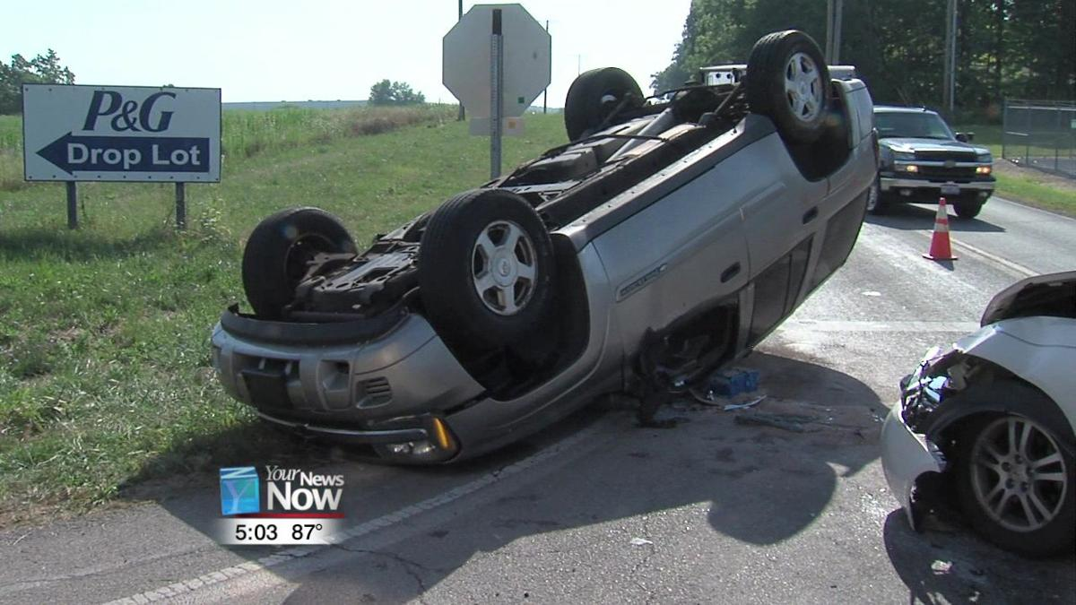 Six injured in another Thayer Road crash 1.jpg