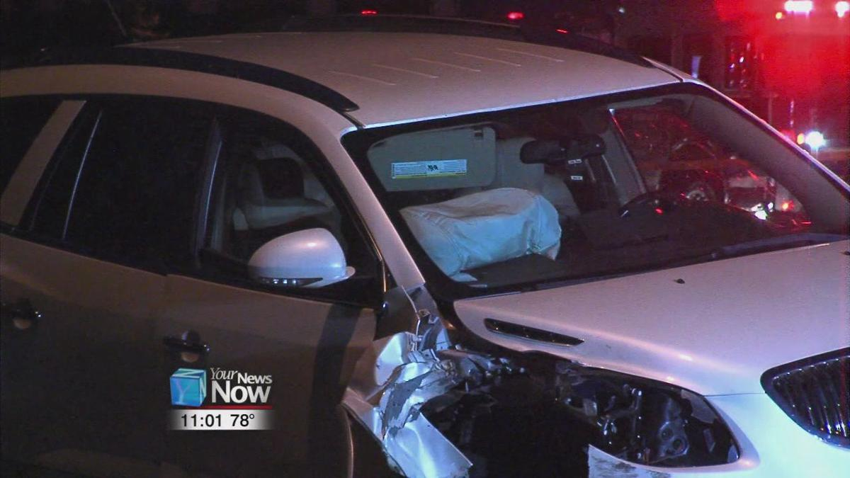Child in hospital after car hits utility pole1.jpg