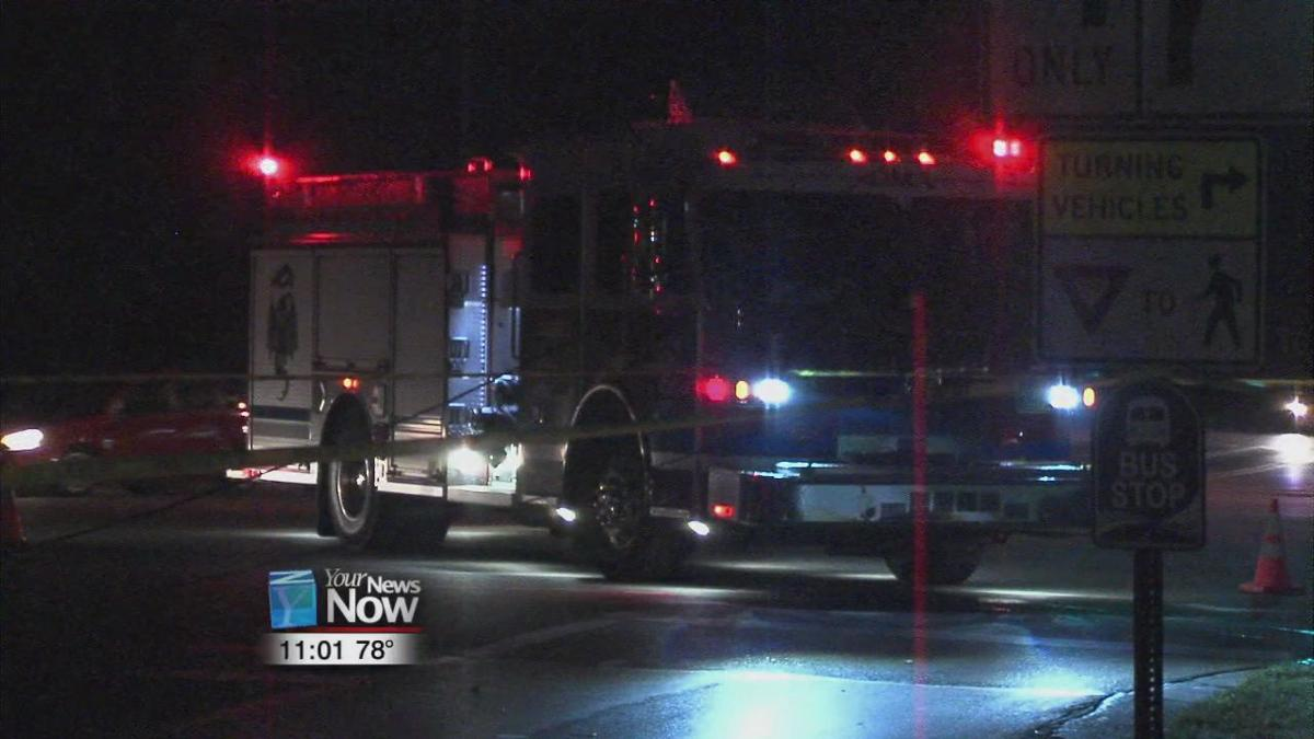 Child in hospital after car hits utility pole.jpg
