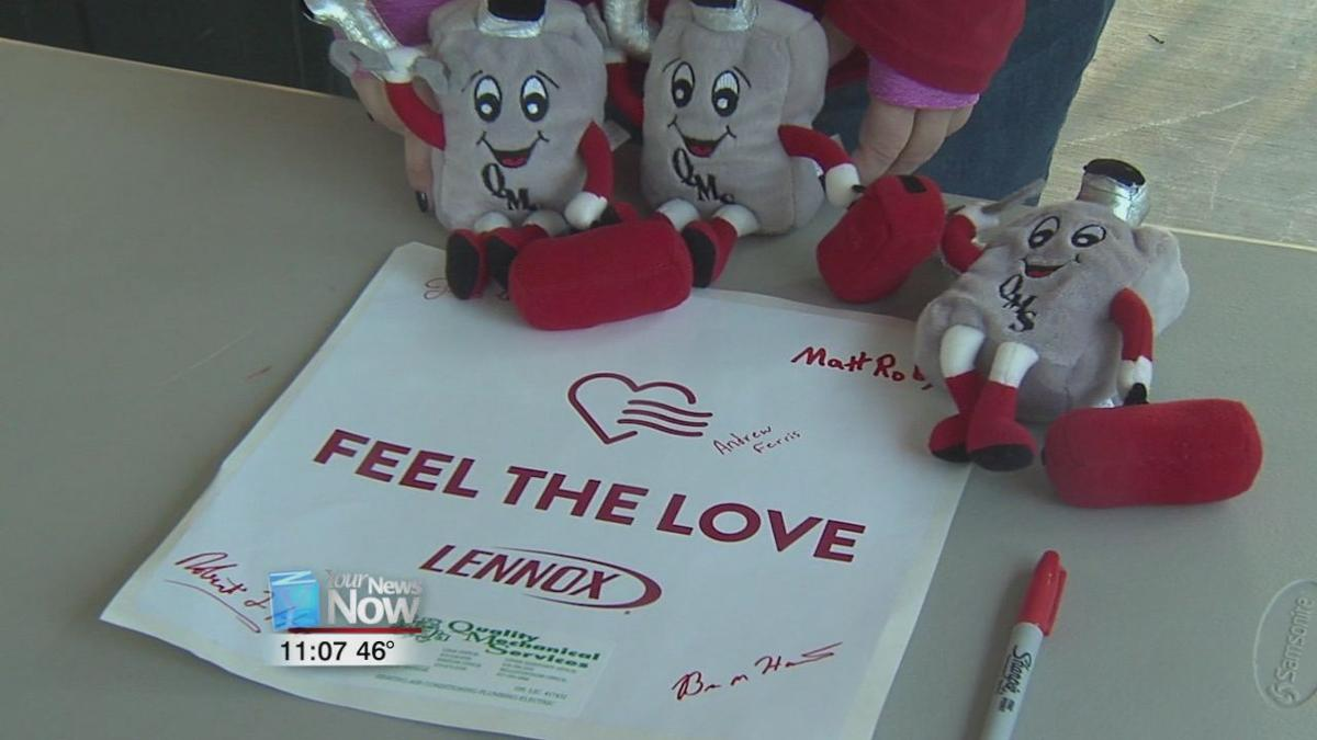 Feel the love charity gives furnace to Delphos Family