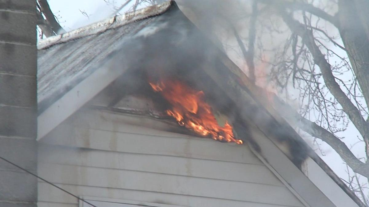 A Sunday afternoon fire leaves a Landeck family homeless