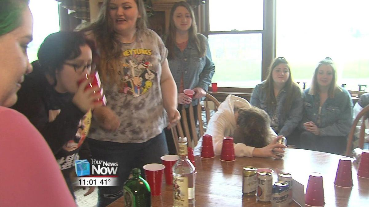 Bath, Allen East S.A.D.D. students show parents the reality of teen party scene.jpg