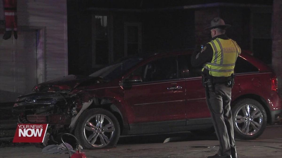 Car crash in Cridersville ends in flames and sends two to the hospital