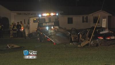 Update: 1 person killed and 5 others injured in two vehicle