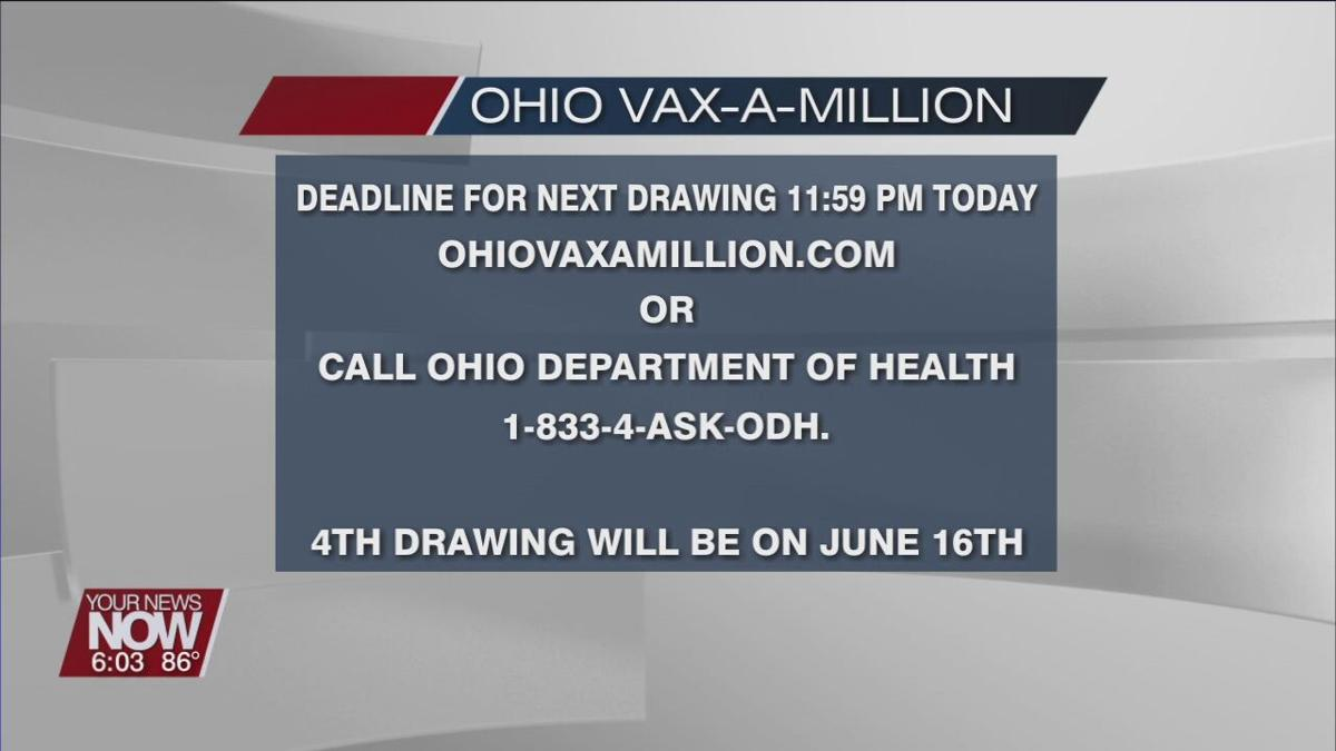 Millions of Ohioans have registered for Vax-A-Million