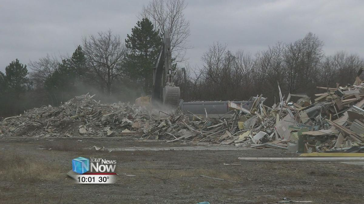New owner demolishes Lima Inn with future plans