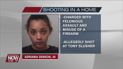 Lima woman charged for allegedly shooting at man and into his home