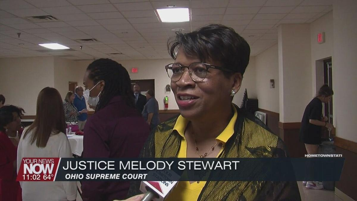 Allen Co. Democrats hear from Ohio Supreme Court Justice Melody Stewart