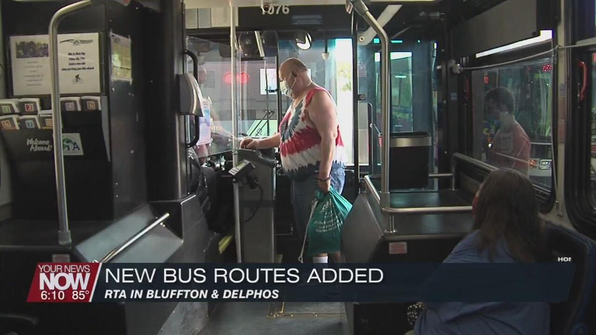 Allen County Regional Transit Authority announces new routes to Delphos and Bluffton