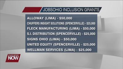 JobsOhio Inclusion Grant providing $250,000 to local businesses in Allen County