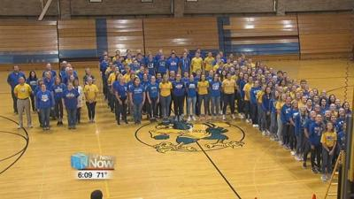Schools supporting injured football player with #shanestrong