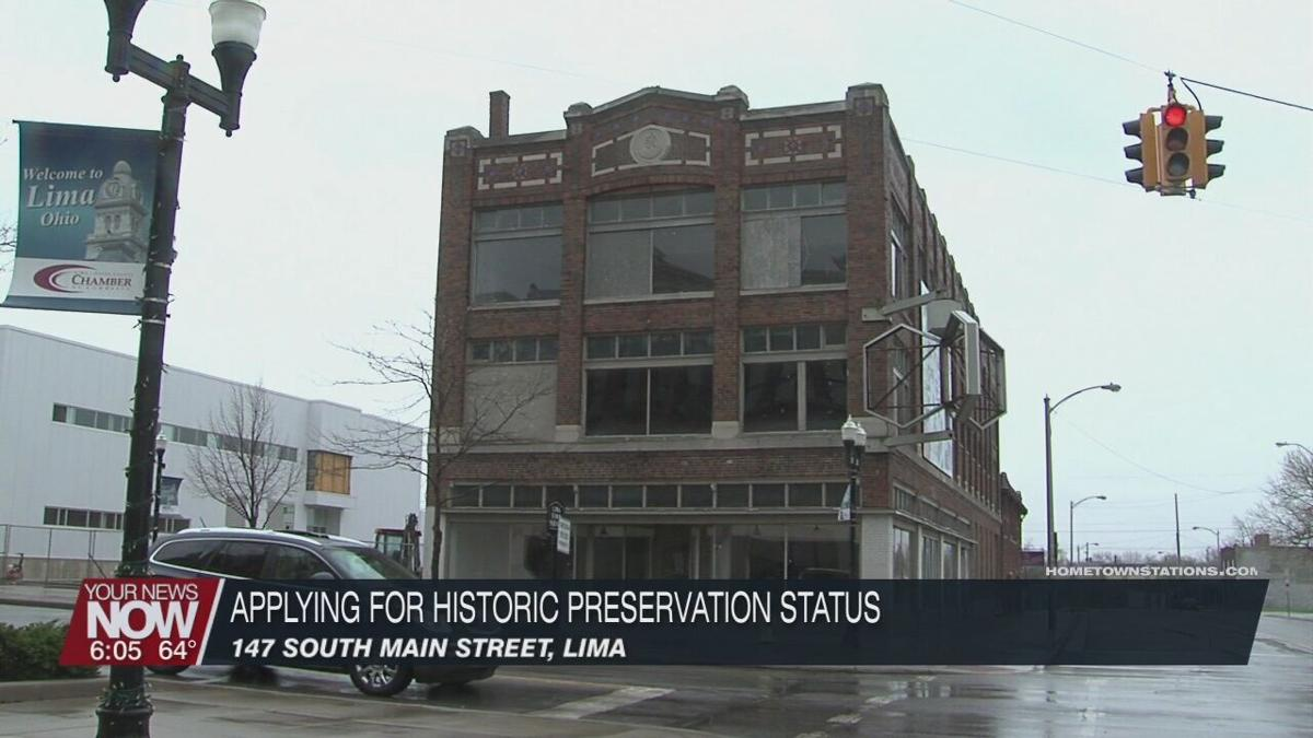 Lima businessman applies for Historic Designation for property on S. Main Street